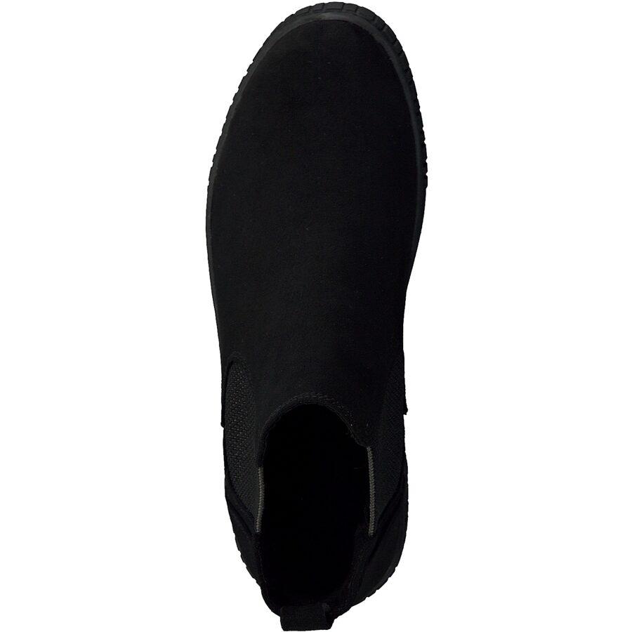 Marco Tozzi apavi, sieviešu rudens/pavasara zābaki, melni puszābaki