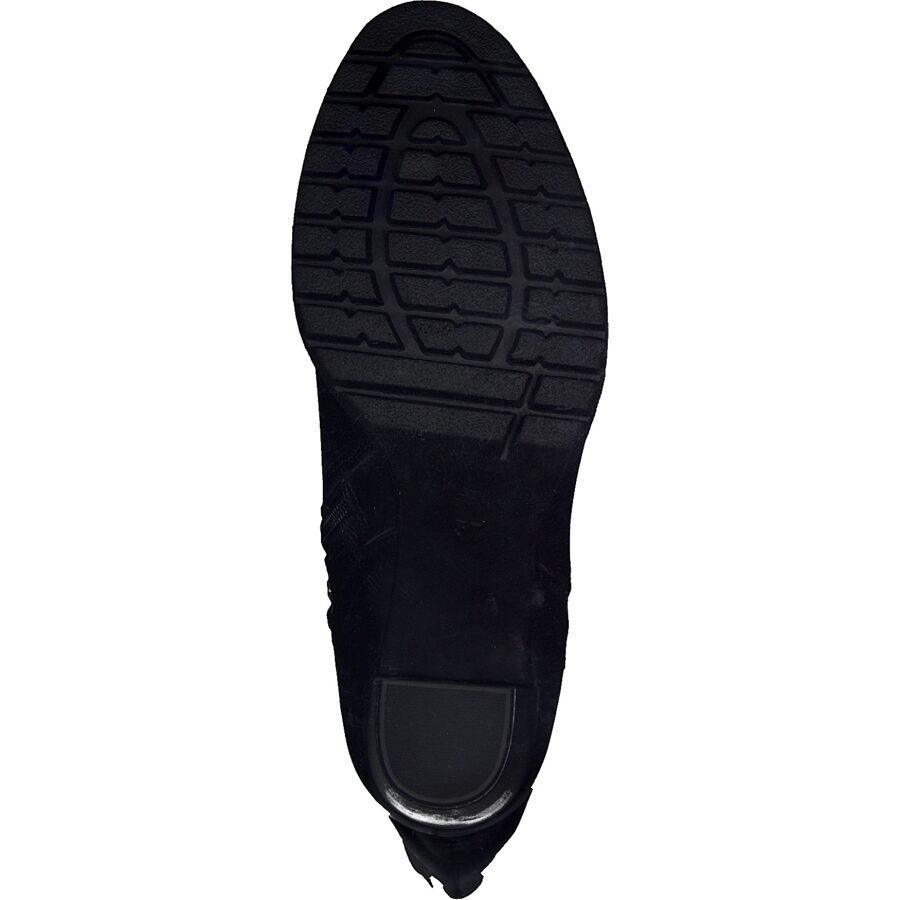Marco Tozzi ādas apavi, gari augstpapēžu zābaki