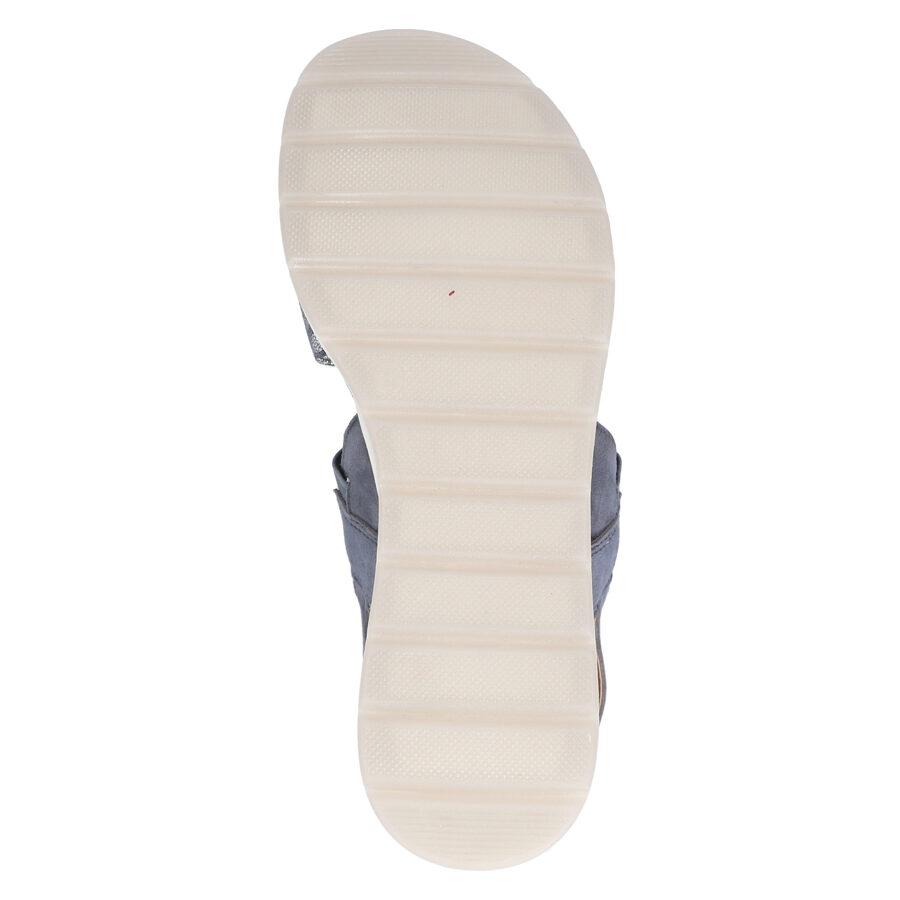 Caprice ādas apavi, pelēkas sieviešu zandales, vasaras kurpes