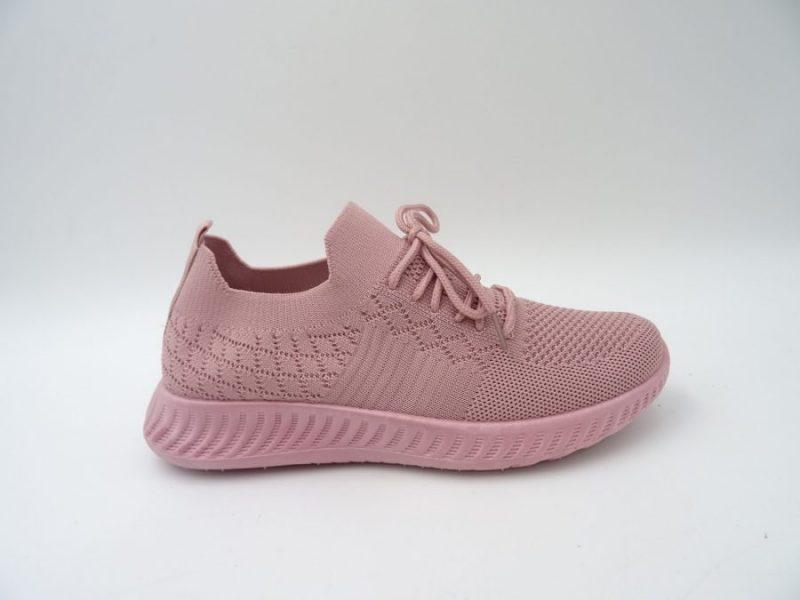 Sliponi, rozā krāsā sieviešu brīvā laika apavi