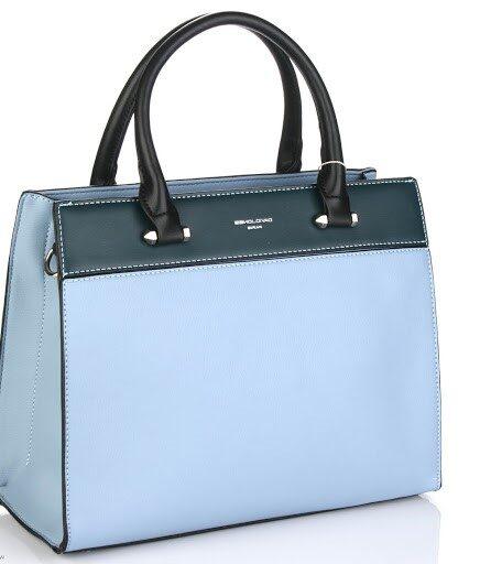 David Jones gaiši zila sieviešu soma