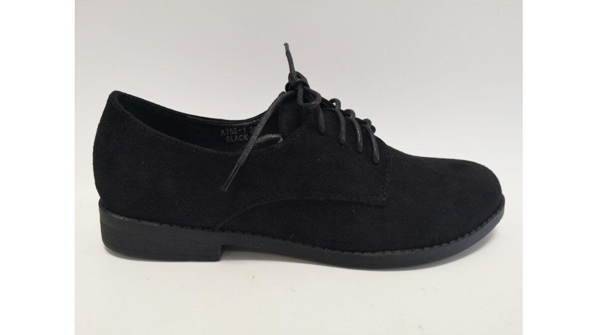 Sieviešu apavi, melnas slēgtās kurpes