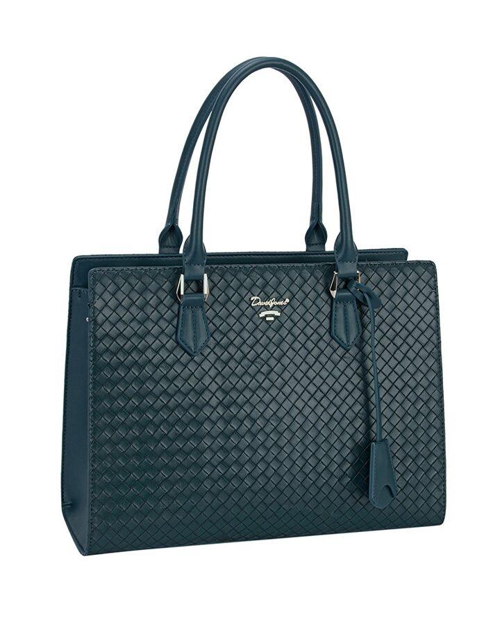 David Jones zilzaļa sieviešu soma