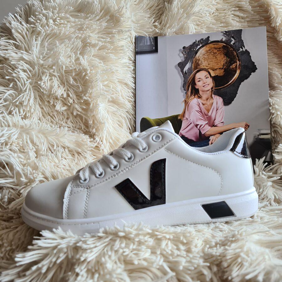Sieviešu baltas botes, brīvā laika apavi