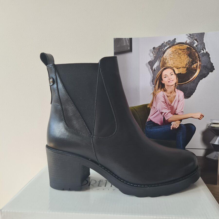 Tanex ādas apavi, sieviešu rudens/pavasara zābaki.