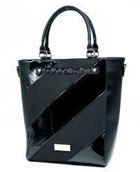 Monnari melna sieviešu soma
