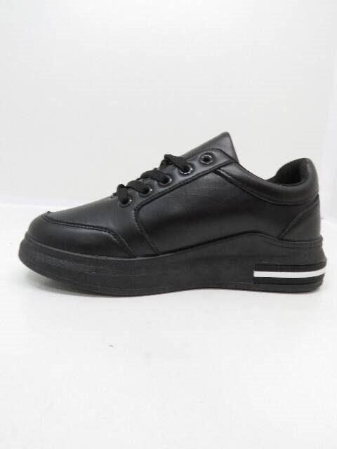 Sneakers, melni ar baltu brīvā laika apavi