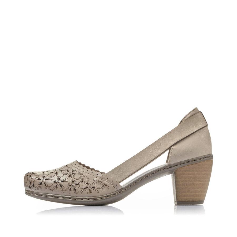 Rieker ādas apavi, sieviešu vasaras kurpes
