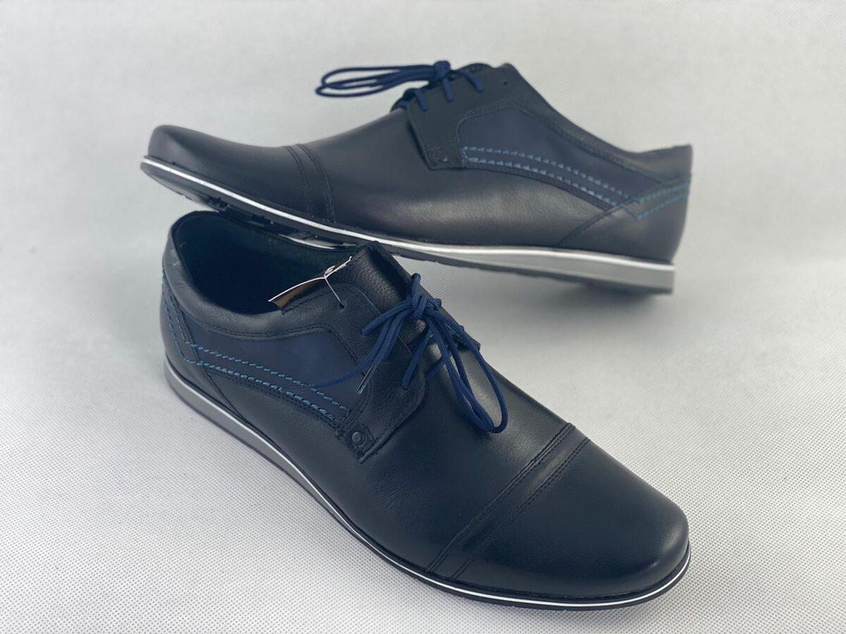 Marek P ādas apavi, melnas vīriešu kurpes