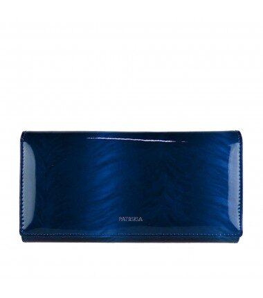Patrizia Piu sieviešu zils, dabīgās ādas maks