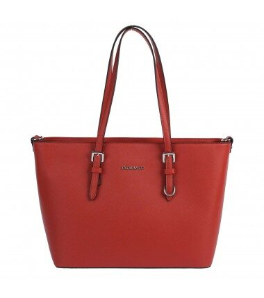 Flora&Co liela, sarkana sieviešu soma