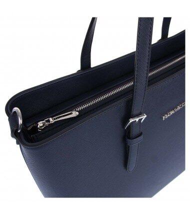Flora&Co liela, melna sieviešu soma