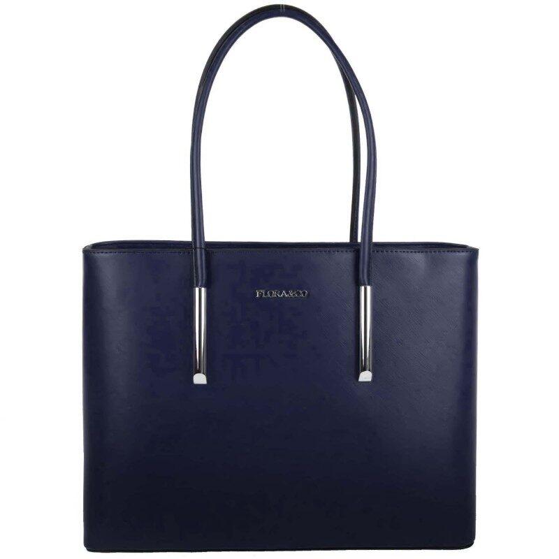 Flora&Co zila sieviešu soma