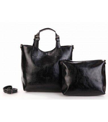 Ines DeLaure liela, bēša sieviešu soma
