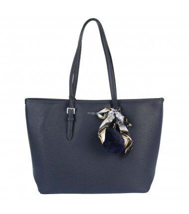 Flora&Co liela, zila sieviešu soma