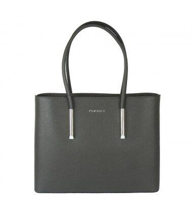 Flora&Co sieviešu liela, pelēka soma