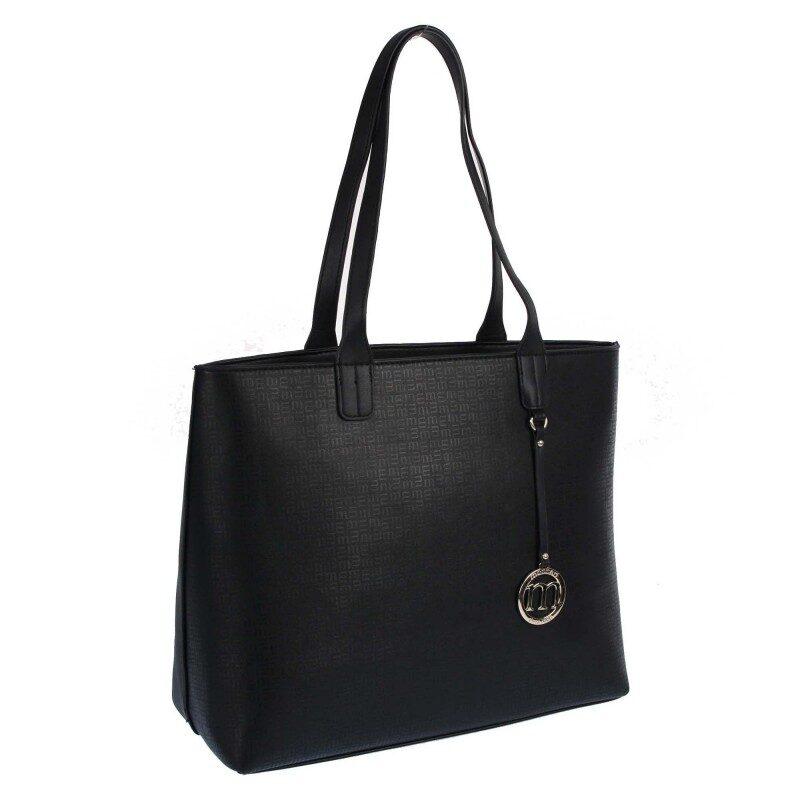 Monnari liela, melna sieviešu soma