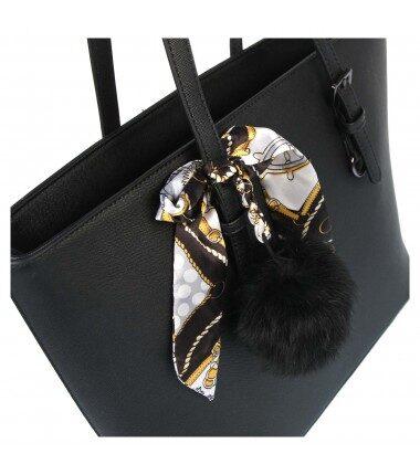 Gallantry melna sieviešu soma