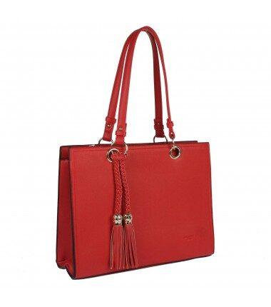 David Jones liela, sarkana sieviešu soma