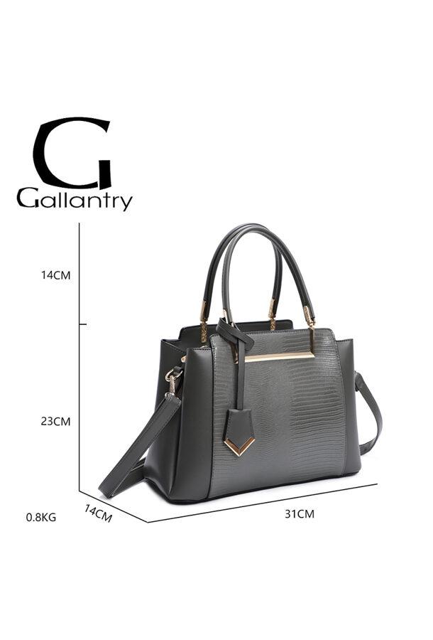 Gallantry neliela, pelēka sieviešu soma