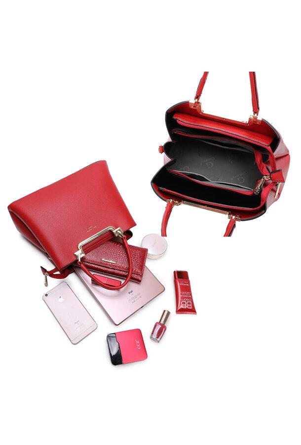 Gallantry sarkana sieviešu soma