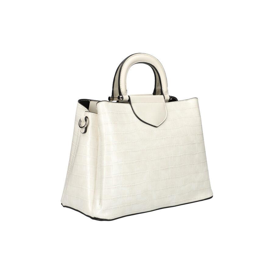 David Jones krema balta sieviešu soma