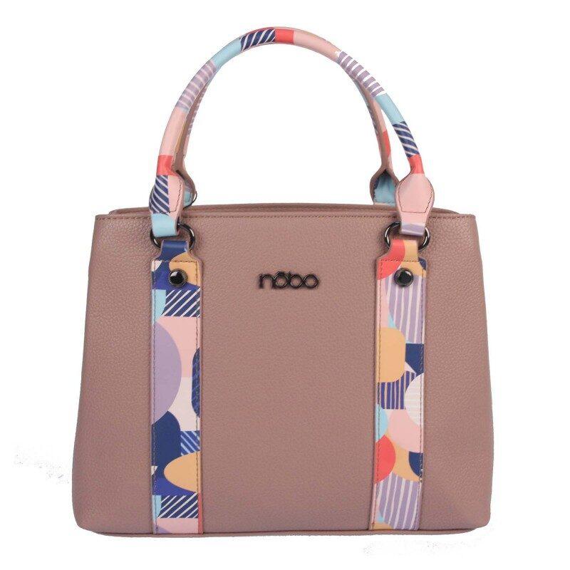 Nobo sieviešu gaiša, krāsaina soma