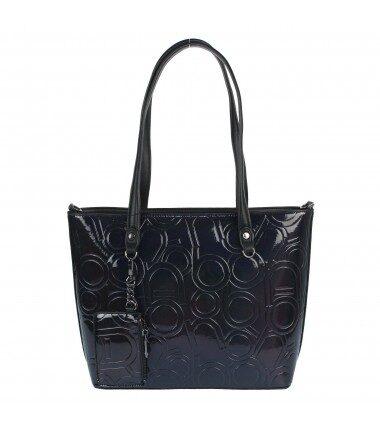 Nobo liela, melna sieviešu soma