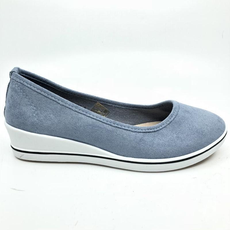 Sabana sieviešu brīvā laika apavi, gaiši zilas kurpes
