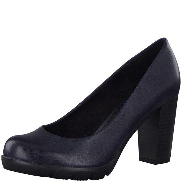 Marco Tozzi apavi, sieviešu zilas augstpapēžu kurpes