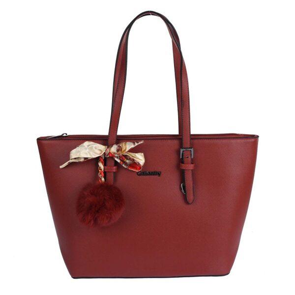 Gallantry tumši sarkana sieviešu soma