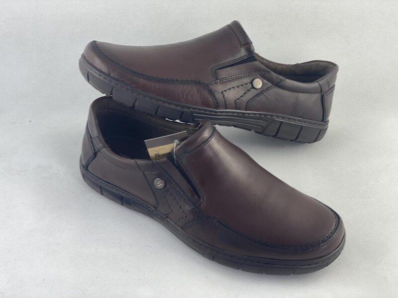 Marek P ādas apavi, brūnas vīriešu kurpes