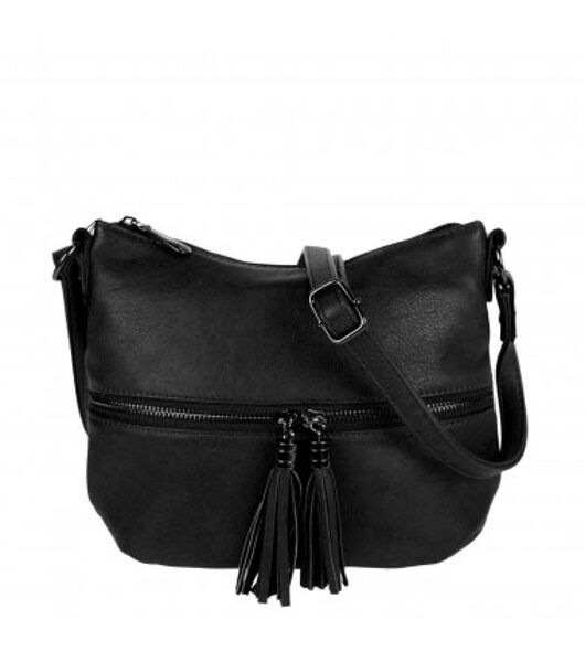 Flora&Co melna, neliela sieviešu soma