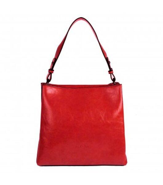 Ines DeLaure sarkana sieviešu soma