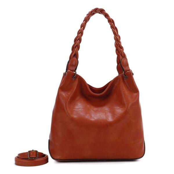 Ines DeLaure orandža, ruda sieviešu soma