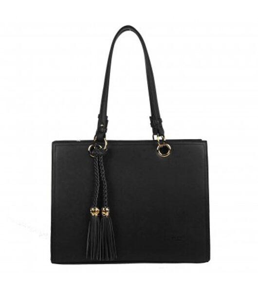 Gallantry liela, melna sieviešu soma